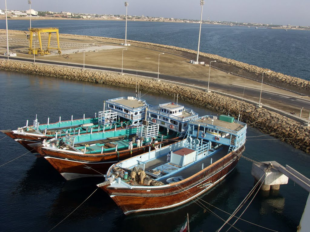 India & Iran to sign Chabahar port contract.