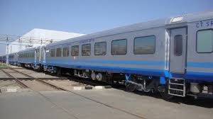Spanish Talgo train takes a trial run