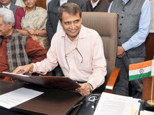 WiFi at 100 stations by December 2016: Suresh Prabhu