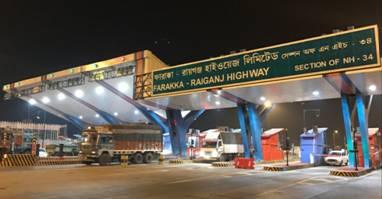 HCC Concessions starts toll operations for Farakka Raiganj Highway