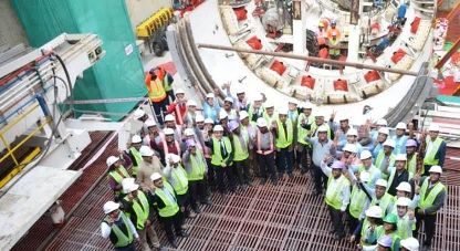 Tata Projects launches Tunnel Boring Machine operations in Lucknow
