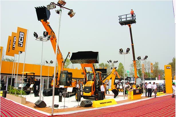 JCB India committed to Infrastructure development in North East through its new range of Excavators and Compactors