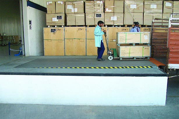 Quality Loading Dock Levelers by Gandhi Automations
