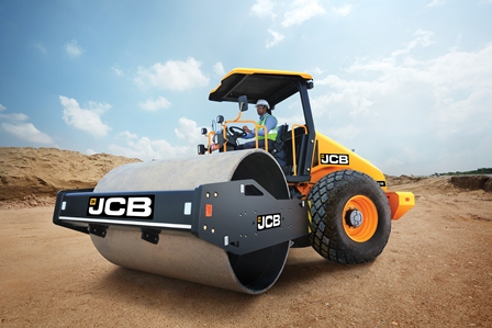 JCB India offers a finest range of road compaction equipment - JCB116