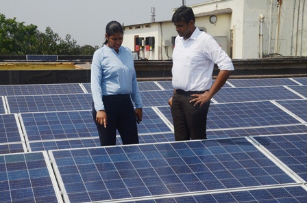 President of India inaugurates Solar PV project by RaysExperts at IIEST Kolkata