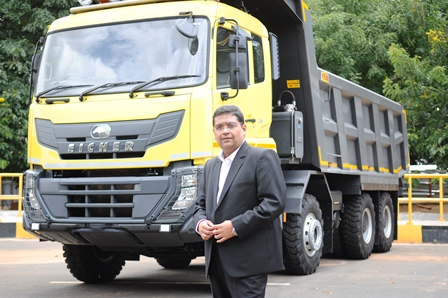The wide range of Eicher Mining Trucks are well equipped to capitalize, the growth potential in the mining industry - SIDDHARTH KIRTANE, Head – Sales & Marketing, Value Trucks – Mining Business, VE Commercial Vehicles