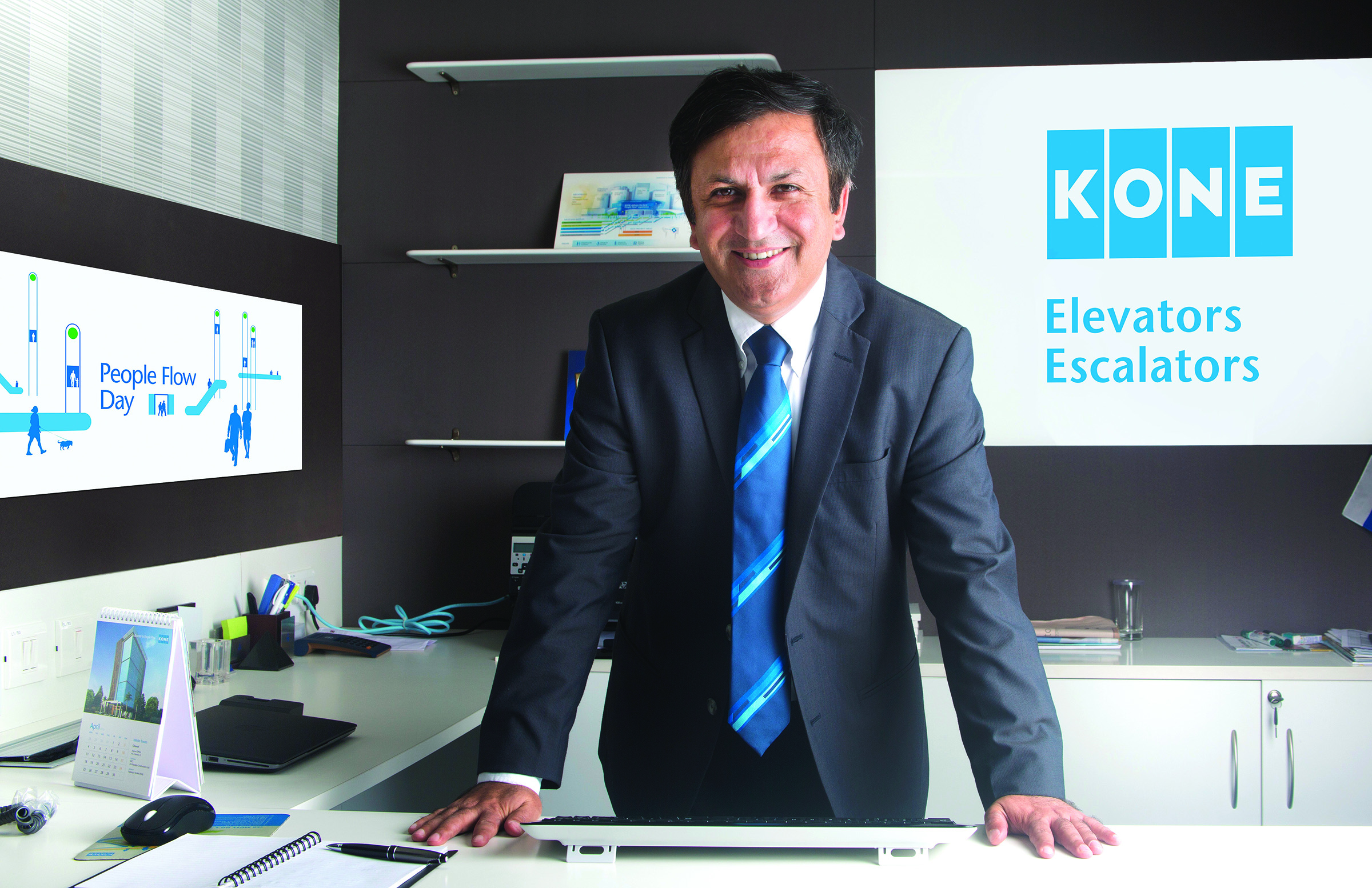 Requirement for elevators is likely to be quite high - AMIT GOSSAIN, Managing Director, KONE Elevator India