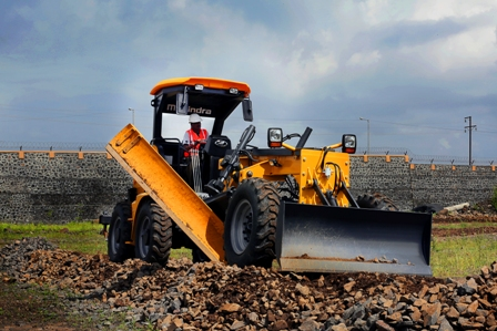 Mahindra Forays into Road Construction Equipment Segment