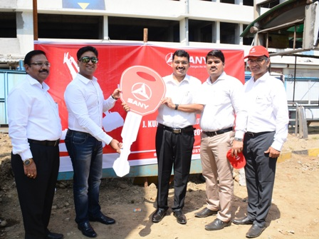 SANY India hands over SANY Piling Rig SR285 to J. Kumar infraprojects for Mumbai Metro project