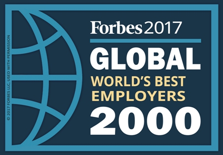 KONE listed as one of the best employers in the world by Forbes