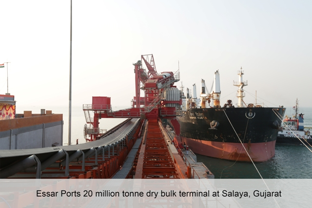 Essar Ports completes over Rs 2,800 crore investment in  Salaya & Vizag terminals