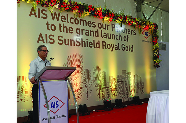 Asahi India Glass launches a new shade under its SunShield range of glasses – AIS SunShield Royal Gold