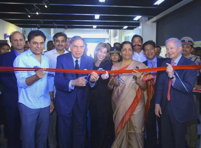 Tata Boeing Aerospace inaugurates its Apache Fuselage Facility