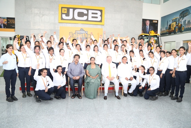 "JCB ""Makes in Rajasthan"" for the World"