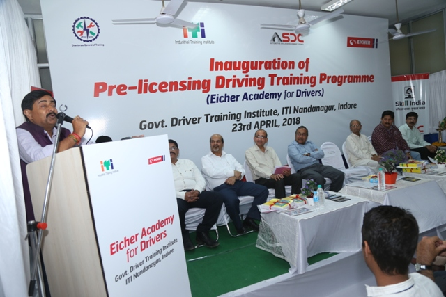 Eicher trucks and buses inaugurates the first ever Eicher Academy for drivers