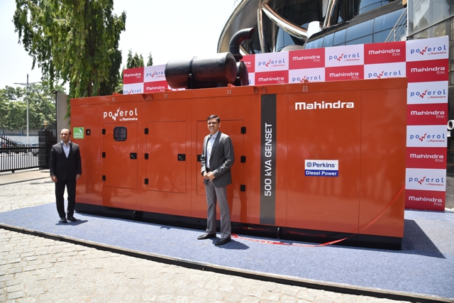 Mahindra Powerol launches its new range of High Power Diesel Generators