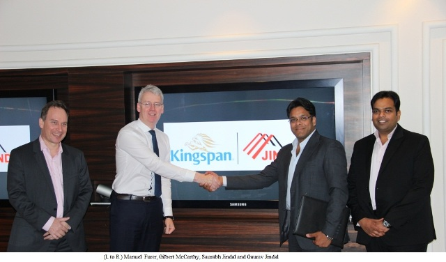 Jindal Mectec and Kingspan form a JV to capture massive growth opportunities in Insulated Panels in the Indian market