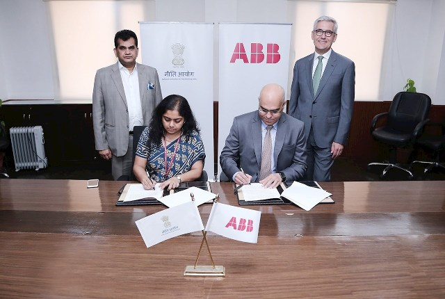 NITI Aayog and ABB India partner to make India AI-Ready