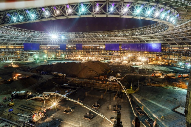 LafargeHolcim provides construction solutions for Russia's football stadiums