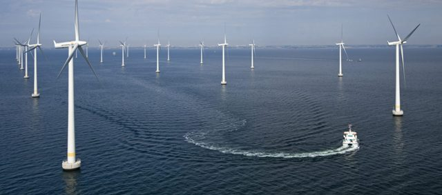 Government sets 5 GW off-shore wind power target by 2022