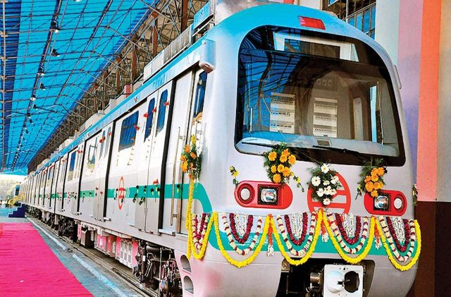 Mundka-Bahadurgarh section of the Delhi Metro's Green Line becomes operational