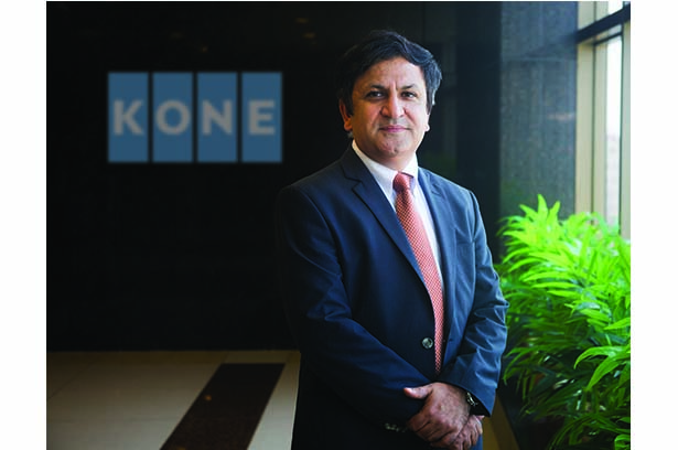 Leading the way in bringing together technology and innovation - Amit Gossain, Managing Director, KONE India