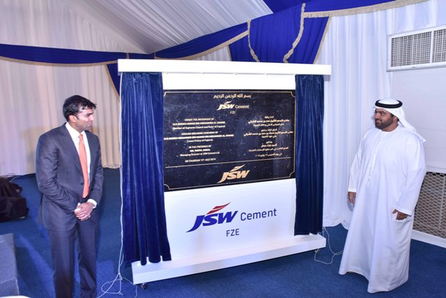 JSW Cement to invest nearly US$150 million in Fujairah