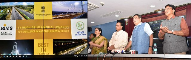 Nitin Gadkari launches Bidder Information Management System and Bhoomi Rashi