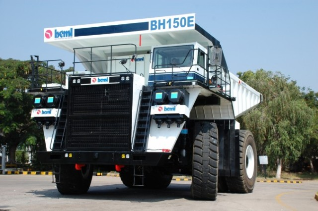 BEML develops 150T electric dump truck