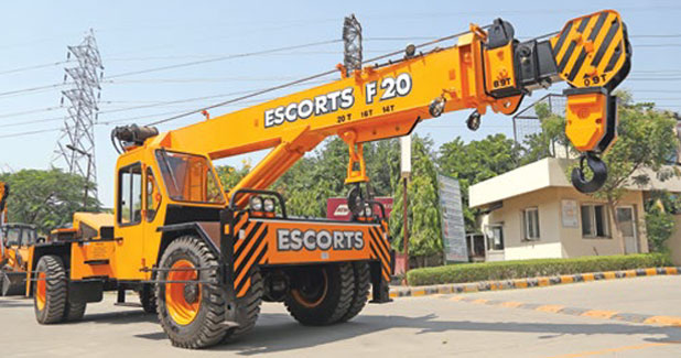 Escorts in joint venture with Japan's Tadano Group
