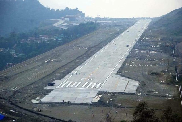 India gets its 100th airport - Pakyong Airport in Sikkim