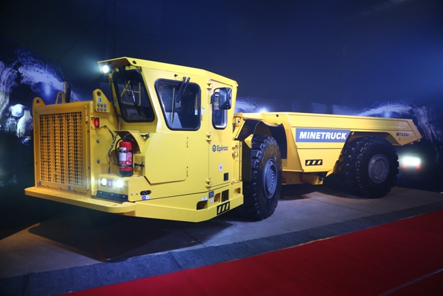 Epiroc launches Minetruck 436B for mining and construction operations