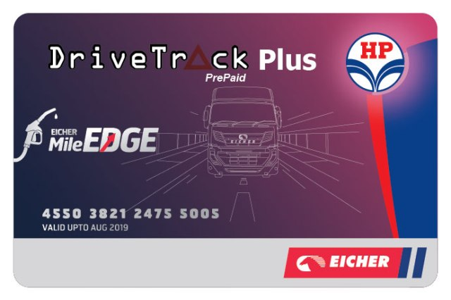 Eicher introduces Fuel Card Program in partnership with HPCL driver track plus