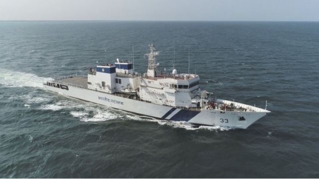 L&T launches 4th offshore patrol vessel for Coast Guard