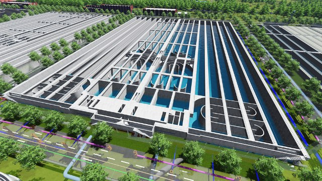 Immersive digital twins helps China Shanghai Railway Engineering establish new practices to deliver sewage treatment plant