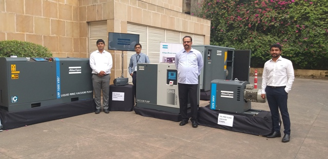 Atlas Copco unveils new variant of VSD compressors under 'Make in India'