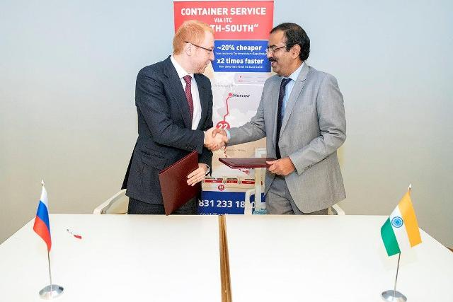 CONCOR signs MOU with Russian Railways Company, JSC RZD Logistics (RZDL)