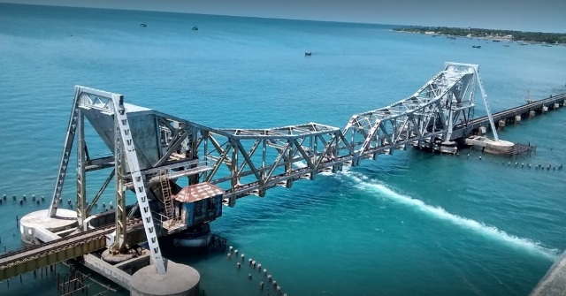 Pamban to become India's first railway bridge to use stainless steel structurals