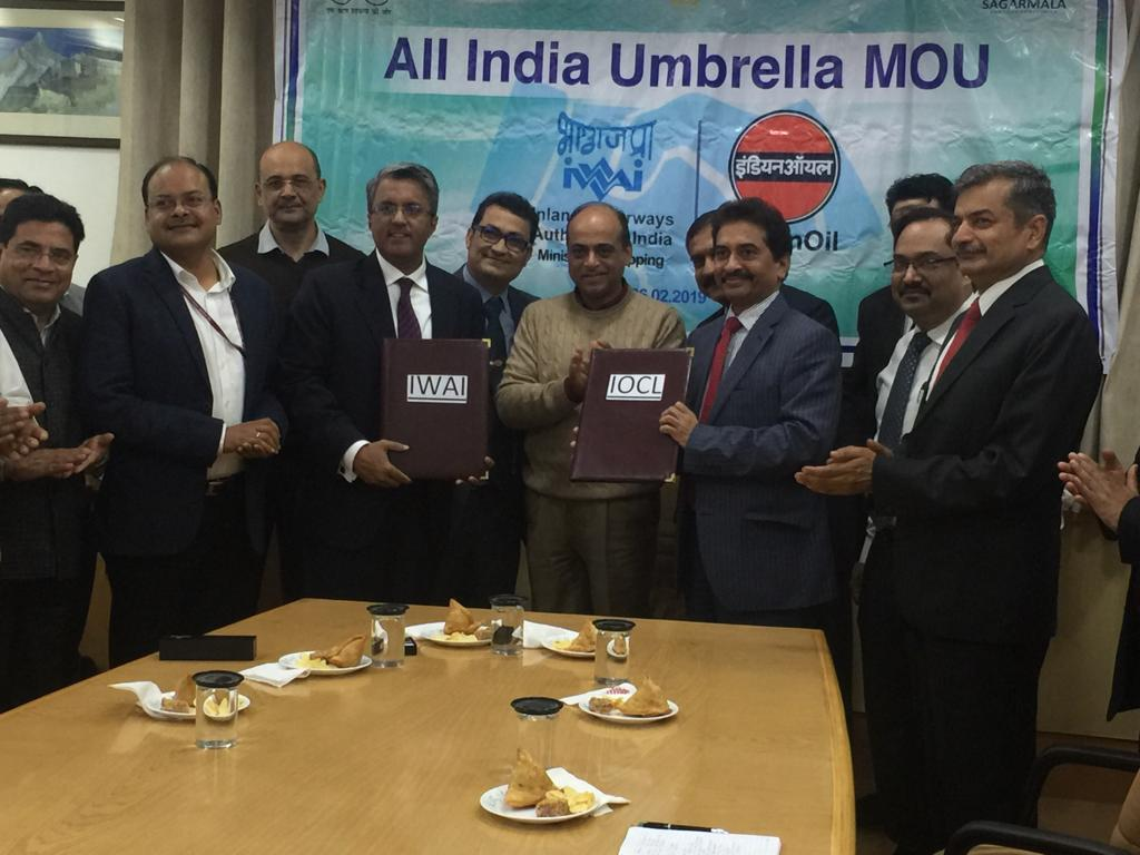 IWAI and Indian Oil sign MoU on fuel needs for National Waterways