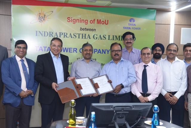 Tata Power and Indraprastha Gas collaborate to offer Integrated Services