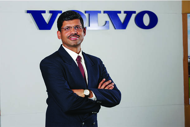Going electric is the future of CE industry - Dimitrov Krishnan, vice president and head of Volvo CE India