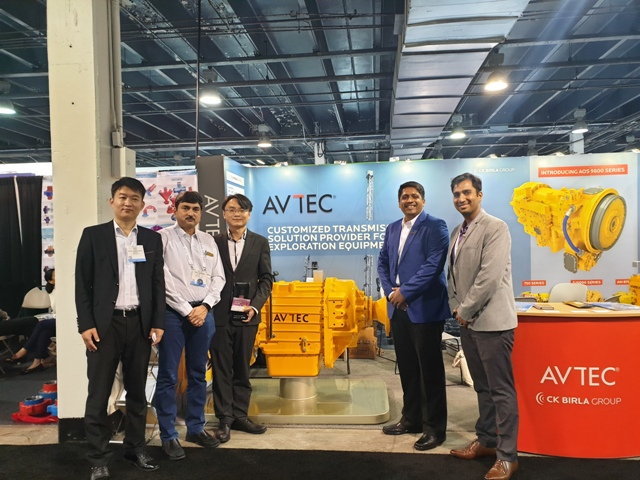 AVTEC unveils  all new 3300hp transmission for Oil Field applications at OTC 2019