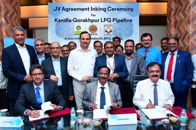 IndianOil joins hands with BPCL and HPCL for laying the longest LPG pipeline