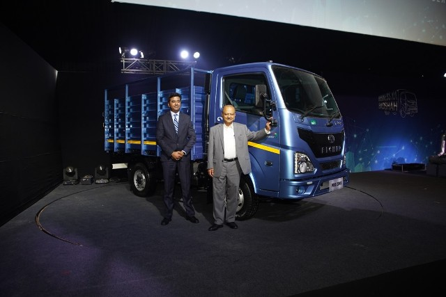 Eicher Trucks and Buses unveils India's first BS-VI CV Range