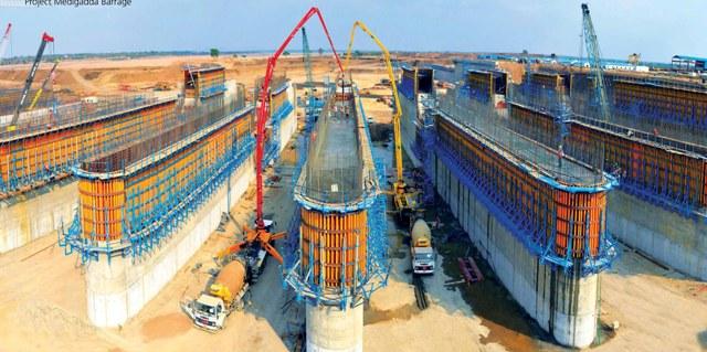 L&T completes Medigadda Barrage