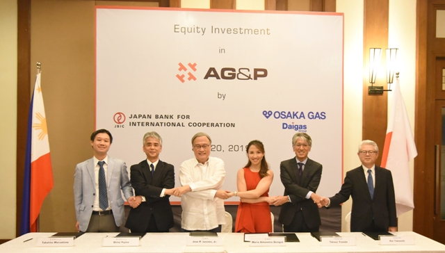 AG&P receives landmark equity investment from a consortium of preeminent Japanese Investors – Osaka Gas and JBIC