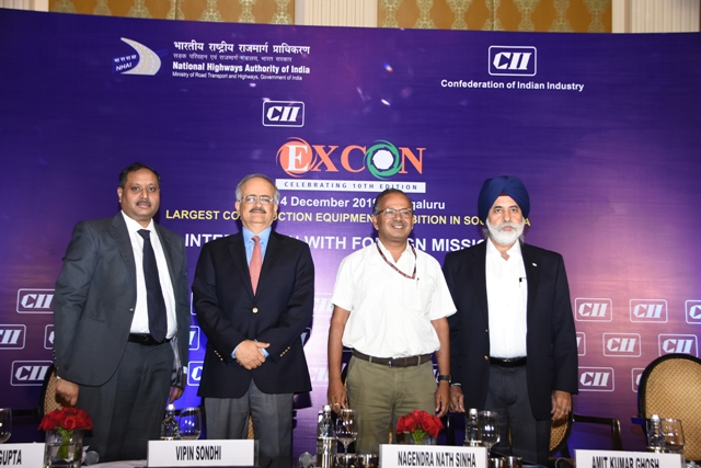 CII Excon 2019 to be held from December 10-14, 2019 in Bengaluru