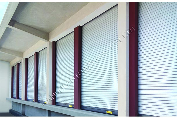 Gandhi Automations: Roller shutters: quick to rebound, simple to operate