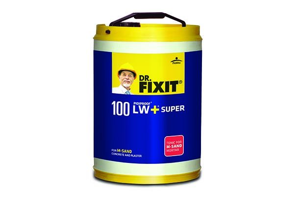 Dr. Fixit introduces LW+Super, a revolutionary product for a long lasting structure