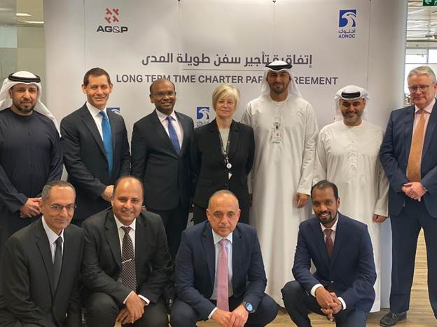 AG&P, ADNOC Logistics and Services sign agreement for the long-term charter of a Floating Storage Unit